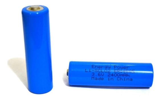Bateria Lithium 3,6v Aa 2400mah Er14505 Li-socl2 Energy Ofer