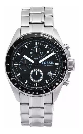 Relógio Fossil Ch2600 10 Atm Cronografo Comprado Nos Usa
