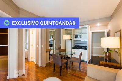 Apartamento No 4º Andar Mobiliado Com 2 Dormitórios E 1 Garagem - Id: 892929142 - 229142