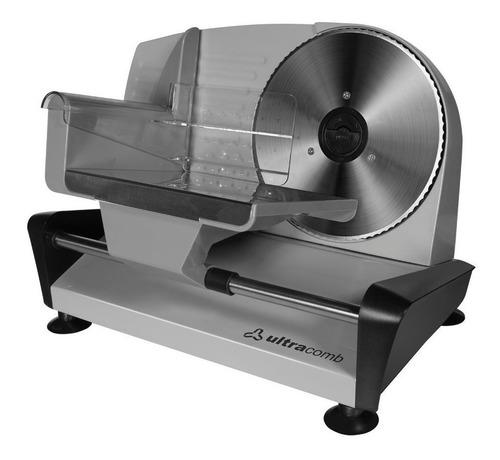 Cortadora De Fiambre Y Alimentos Ultracomb Fs6301 Acero