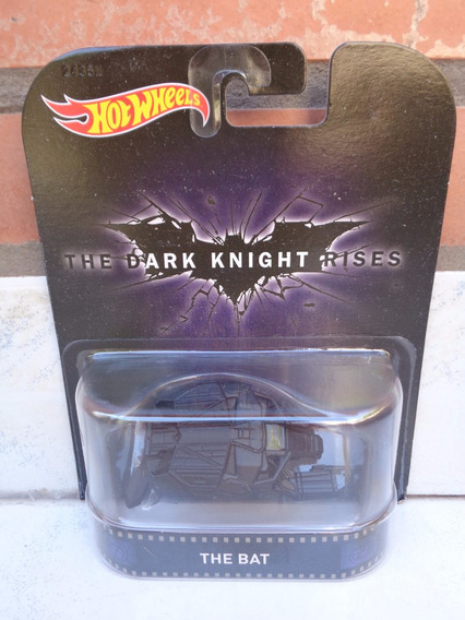 Hotwheels 1:64 Batman The Dark Knight Rises The Bat Pelicula
