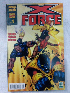 Especial Do Mês # 01 : X-force - Abril