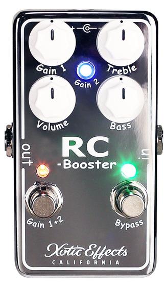 Pedal Xotic Rc Booster V2 Made In Usa C/ Nf-e Envio Imediato