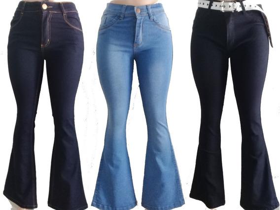 1 Jean Elastizado Mujer Oxford Talles Del 36 Al 46