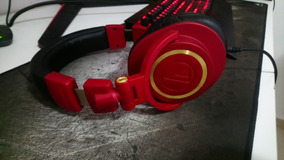 Headphone Fone Profissional Audio-technica Ath-m50x
