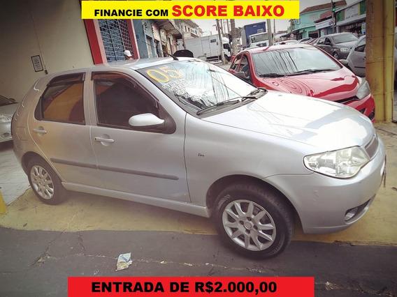 Fiat Palio Completo-ar 4 Portas Financie Com Score Baixo