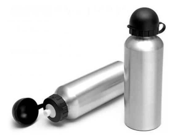 Squeeze Para Personalizar Por Sublimação Em Alumínio.