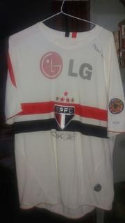 Camisa De Jogo Do São Paulo Futebol Clube 2006 #9 Rbk