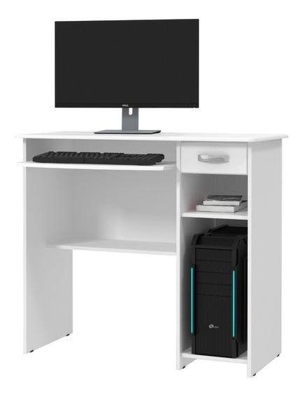 Mesa De Computador Viena - Branco - Jel Moveis