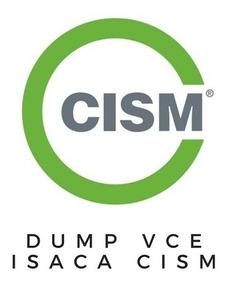 Isaca Cism Dump Vce