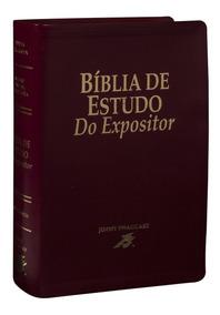 Bíblia De Estudo Do Expositor Versículo Por Versículo