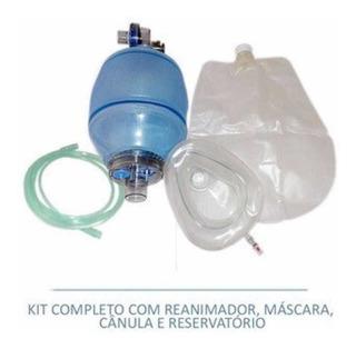 Reanimador Ressuscitador Manual Tipo Ambu Pvc - Adulto