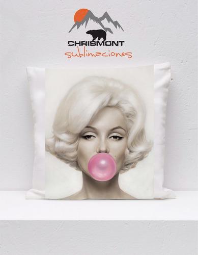 Imagen 1 de 3 de Cojines Marilyn Monroe Parca Chrismont