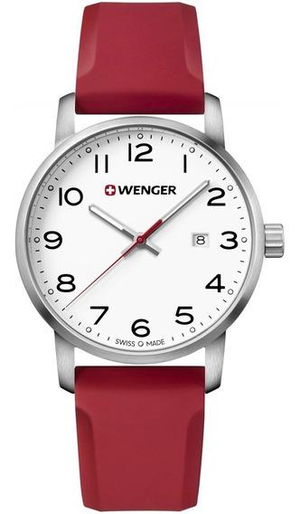 Relógio Suiço Wenger Avenue Vermelha 01.1641.105