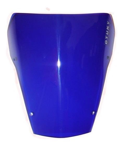 Bolha Para-brisa Yamaha Xt 660 2004 Até 2018 Azul Anil