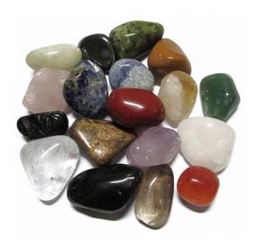 Pedras Roladas Mistas Semi Preciosas 1/2 Kilo - Promoção