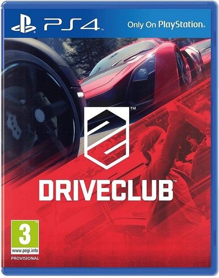 Drive Club Ps4 Português Midia Fisica Pronta Entrega