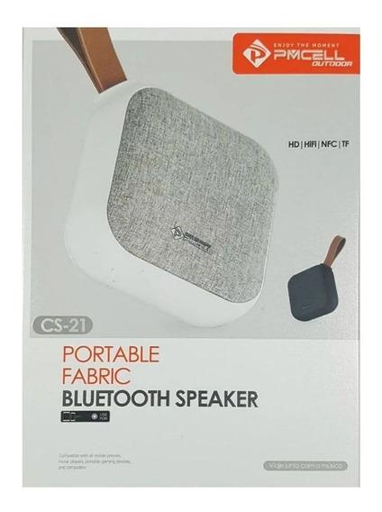 Caixa Som Bluetooth Wireless Pmcell Cs21 Original 5w