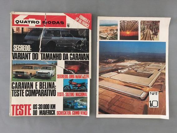 Revista Quatro Rodas - Julho 1976 - Nº 192 Caravan Belina