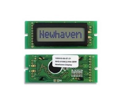 Display Lcd Cinza 16x2 Lcd Nhd-0216ez-fl-gbw # Kit C/ 3 Pçs