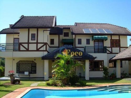 Chácara Com 4 Dormitórios À Venda, 1360 M² Por R$ 2.599.900 - Condomínio Parque Da Fazenda - Itatiba/sp - Ch0210