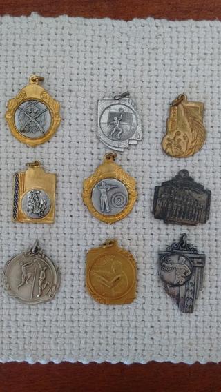 Medallas Argentinas Antiguas De Deporte, Colección.