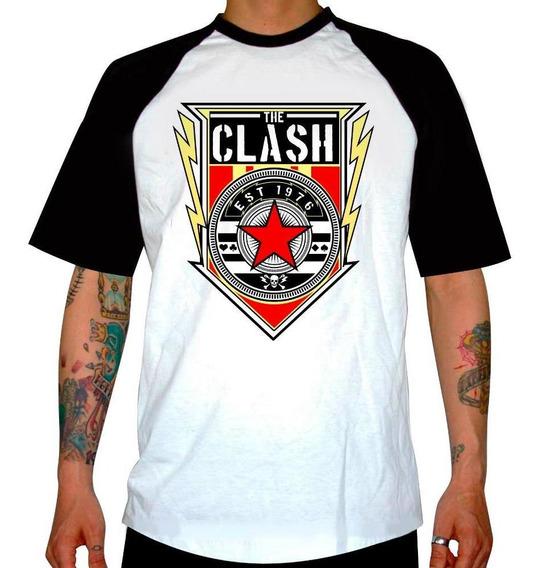 Remera Combinada The Clash 1976