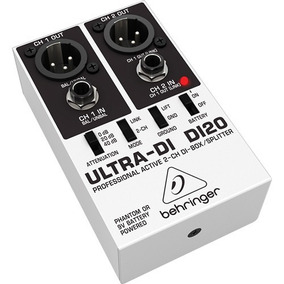 Di Di20 Direct Box Ativo Ultra Di-20 , 02 Canais Original