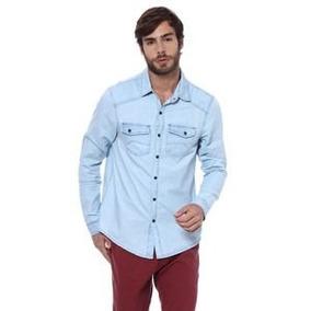 Camisa Dopping Jeans. Azul Claro