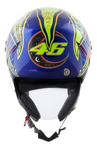 Capacete Agv Blade Aberto Five Continents Valentino Rossi Estacao Motos
