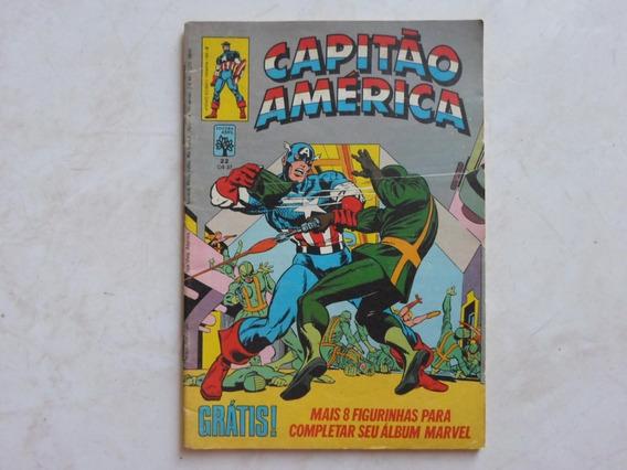 Capitão América N° 22 Com Pôster Editora Abril Original