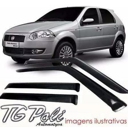 Defletor Calha De Chuva Fiat Palio, Strada 2 Portas Tg Poli