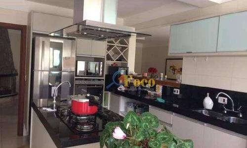 Chácara Com 3 Dormitórios À Venda, 1500 M² Por R$ 1.450.000,00 - Condomínio Ville De Chamonix - Itatiba/sp - Ch0156