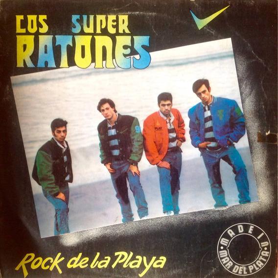 Lp Los Super Ratones - Rock De La Playa. 1990
