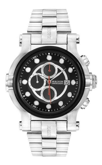 Relógio Masculino Magnum Cronógrafo Ma32292t - Original