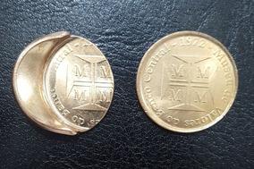 Moeda Medalha Museu De Valores Banco Central Com Erro Boné
