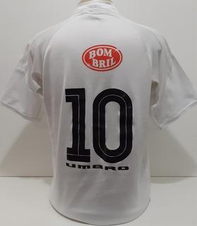 Camisa Santos 2003 Umbro Escudo Campeão Brasileiro 2002 - Kp