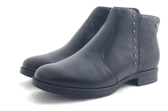 Stitching Drake Botita Elegante Cómoda El Mercado De Zapatos