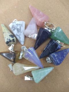 Dije Pendulo Para Pulsera Mini Piedra Semipreciosa X Mayor