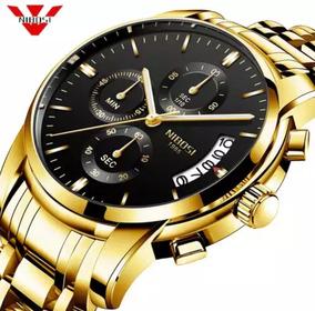 Relógio Frete Grátis Promoção Blindado Anti-rico Nibosi