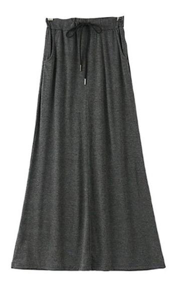 Bonita Falda Larga Casual 5501