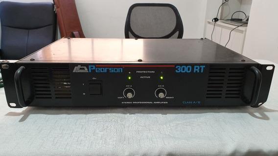 Potência Pearson 300 Rt 300w Rms 2 Canais