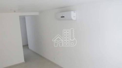 Sala À Venda, 29 M² Por R$ 206.000,00 - Centro - Niterói/rj - Sa0163