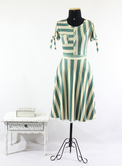 Vestido Feminino Midi Laço Confortável Evangelico Godê Duplo