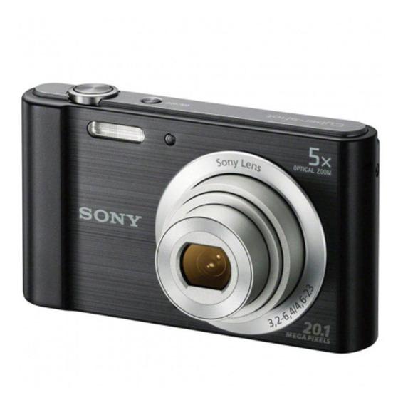 Câmera Sony Dsc-w800