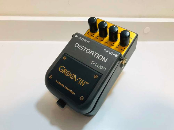 Pedal Distortion Ds200 Groovin Impecável! Rr Music