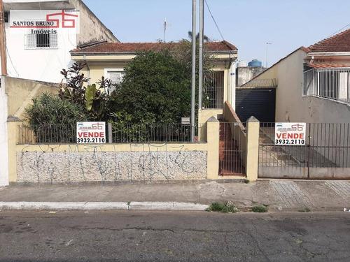Imagem 1 de 30 de Casa Antiga Com Terreno De 250m2 Com 2 Dormitórios À Venda Por R$ 450.000 - Freguesia Do Ó - São Paulo/sp - Ca0899