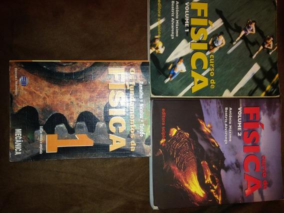 Física 3 Livros Nicolau,ramalho,toledo / B.alvarenga- Maximo