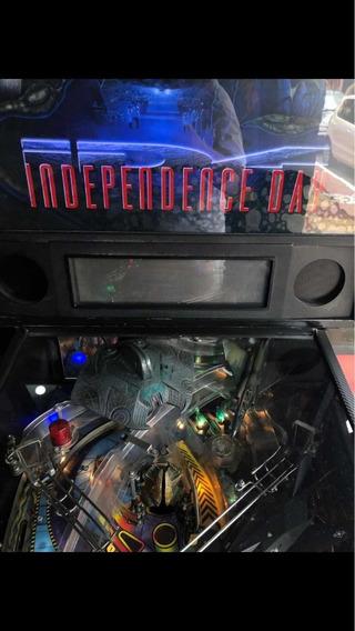 Pinball Independence Day Sega