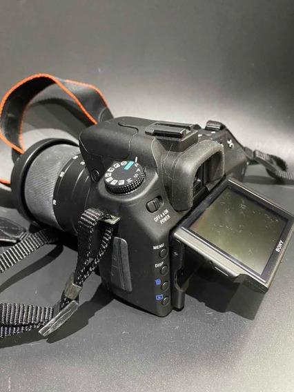 Camera Sony Alpha 350 + Lente Sony 75-300mm + Zeikos Filter